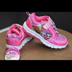 LOL Surprise Shoes Kids Light Up  Sneakers  Size
